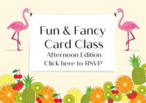 Fun & Fancy Stamp Class with Leslie from The Plaid Poodle @ Wellness Wheel | Gladstone | Missouri | United States