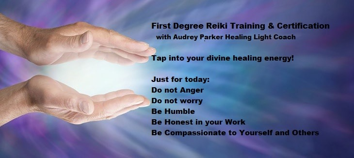 Reiki I Certification w/Audrey
